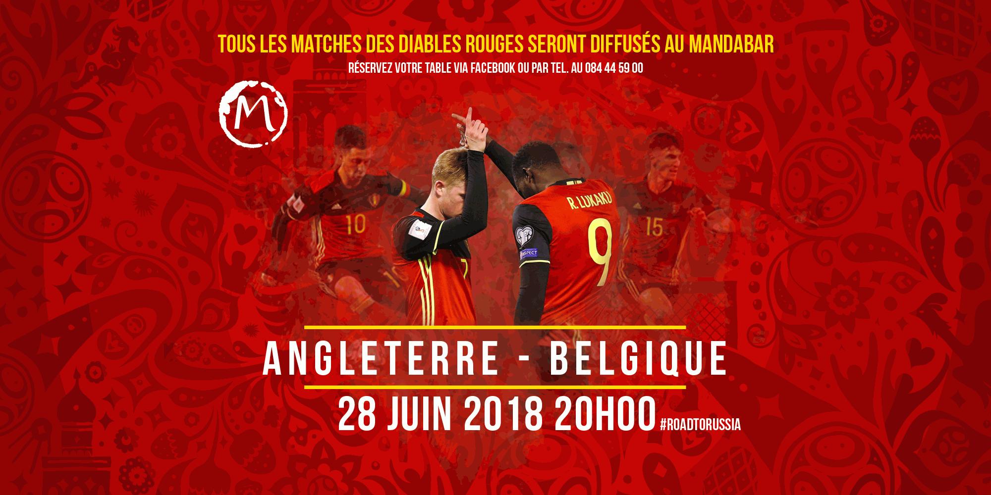 Belgique Angleterre